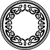 Кельтская круглая граница картины Стоковая Фотография