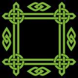 Кельтская рамка границы Стоковые Изображения