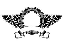 Кельтская рамка Стоковое Изображение