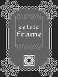 кельтская рамка Стоковое Фото