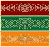 Кельтские орнаменты и картины Стоковые Изображения RF