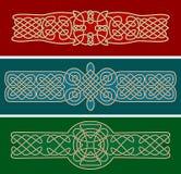 Кельтские орнаменты и картины Стоковые Фотографии RF
