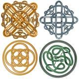 кельтские узлы Стоковые Фото