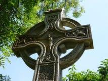 Кельтский крест в Северной Ирландии Стоковая Фотография RF