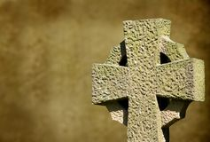 Кельтский крест Стоковая Фотография RF