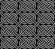 Кельтский орнамент безшовный Стоковые Фото