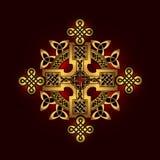 Кельтский фольклорный орнамент Стоковые Изображения RF