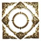 Кельтское золото афиши Стоковые Изображения