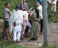Кельтское ритуальное убийство стоковая фотография
