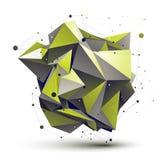 Кибернетическая несимметричная стильная конструкция Стоковая Фотография RF