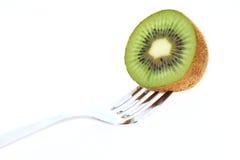 киви плодоовощ вилки Стоковая Фотография RF