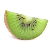 киви плодоовощ изолированный половиной Стоковое Фото