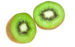 киви плодоовощ изолированный половиной Стоковое Изображение RF