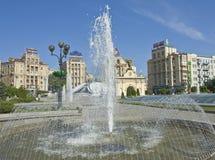 Киев, квадрат независимости Стоковая Фотография RF