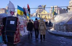 Киев протестует 2014 Стоковое Фото
