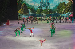 КИЕВ, УКРАИНА: балет льда Стоковые Изображения