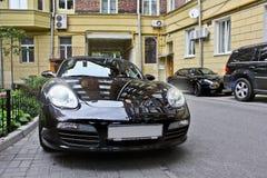 Киев, Украина; 10-ое апреля 2014 Кейман Порше & Maserati 3200 GT стоковые изображения rf