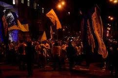КИЕВ, УКРАИНА - 9-ое октября 2017: VÑ-rnÑ- -го март zbÑ-rnÑ-y (Fai Стоковое Изображение RF