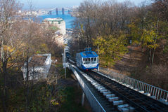 Киев фуникулярный, Украина стоковые изображения