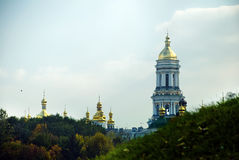 Киев Pechersk Lavra или Kyiv Pechersk Lavra стоковые фото