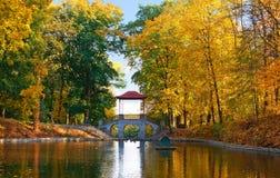 киец моста осени Стоковая Фотография RF