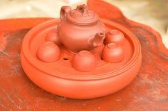 киец придает форму чашки чай Стоковые Фотографии RF