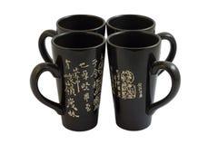 киец придает форму чашки 4 Стоковая Фотография RF