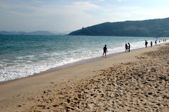 киец shenzhen пляжа Стоковая Фотография RF