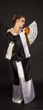 кимоно девушки потехи Стоковое Изображение RF