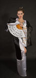 кимоно девушки потехи Стоковая Фотография RF
