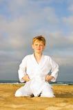 кимоно мальчика Стоковая Фотография RF