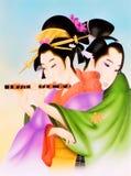 кимоно иллюстрация штока