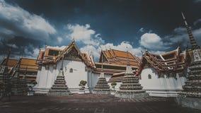 Кинематографическое timelapse в королевском дворце в Бангкоке сток-видео