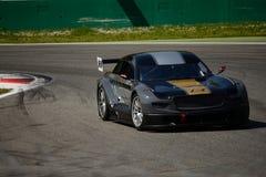 Кинетический автомобиль Mitjet гоночной команды на Монце Стоковые Изображения