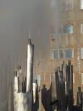 Кинетический фонтан, Drobeta Turnu Severin Стоковые Изображения