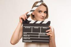 Киноиндустрия работника Стоковые Фотографии RF