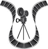 Киносъемочный аппарат Стоковые Фото