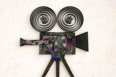 Киносъемочный аппарат Swirly Стоковые Фото
