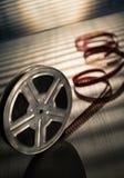 кинотехнологический вьюрок киноиндустрии принципиальной схемы Стоковые Изображения RF