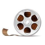 кинотехнологический вьюрок киноиндустрии принципиальной схемы Стоковые Фотографии RF
