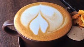 Кинофильм кофе в стекле сток-видео