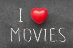 Кино влюбленности Стоковые Изображения RF