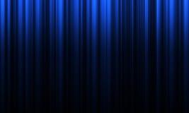 Кино или занавес театра Стоковая Фотография RF
