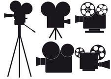 кино камеры иллюстрация вектора