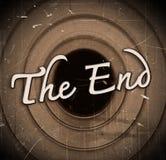 Кино конца Стоковые Фотографии RF