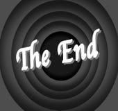 Кино конца Стоковые Изображения