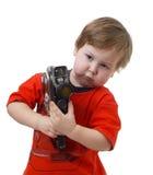 кино ребенка камеры стоковое изображение