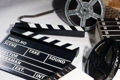 Кино хлопа на таблице Стоковое фото RF