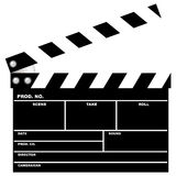 кино clapboard Стоковое Изображение