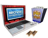 кино download иллюстрация вектора